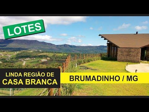 LOTES EM BRUMADINHO MG - CONDOMÍNIO FECHADO ECO CASA BRANCA