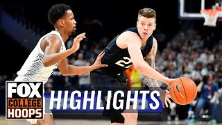Sean McDermott leads second half comeback as Butler beats Georgetown | FOX COLLEGE HOOPS HIGHLIGHTS
