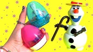 Easter Eggs Transforming Toys Anna Elsa Olaf MyLittlePony Kinder Surprise Disney Frozen TsumTsum