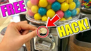 How To Hack Any Gumball Machine! (100% FREE CANDY)