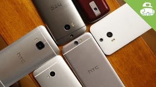 A history of HTC's Android designs - Video Youtube