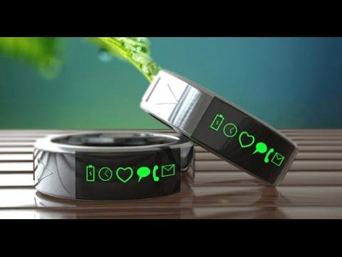 Необычные кольца на руку. Гаджеты устройства и новые технологии.