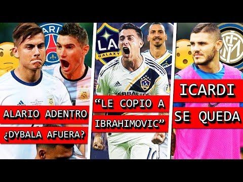 ALARIO convocado porque DYBALA ¡¿Se va al PSG?!+ PRIMER gol de PAVÓN+ ICARDI se queda en el INTER 😮
