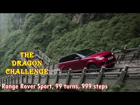 Range Rover Sport, 99 turns, 999 steps   THE DRAGON CHALLENGE