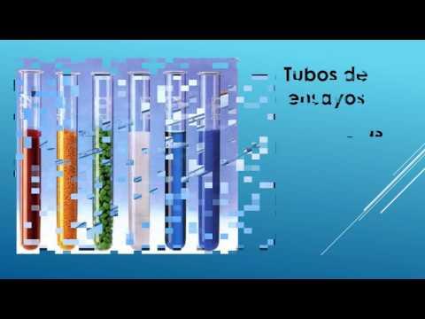 Materiales de laboratorio de Quimica Vidrio