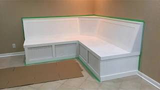 Custom Banquette Bench