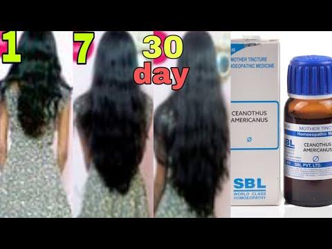 Para sa hemp hair oil