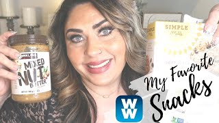 MY FAVORITE WW SNACKS!! | MUST HAVES! | WEIGHT WATCHERS | CLEAN EATING!