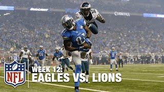 Detroit is Thankful for Megatron's 3 Touchdowns! | Eagles vs. Lions | NFL