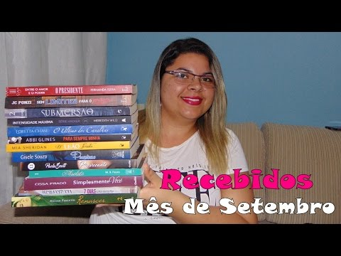BOOK HAUL + UNBOXING ? Setembro de 2016 | Estante da Suh
