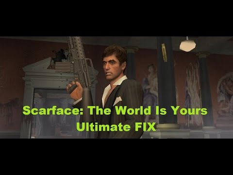 crack scarface the world is yours