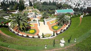 preview picture of video 'The Bahá'í Gardens in Haifa'