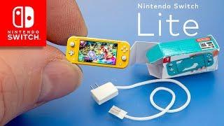 Mini Nintendo Switch Lite Console Dollhouse Miniatures Diy Tutorials