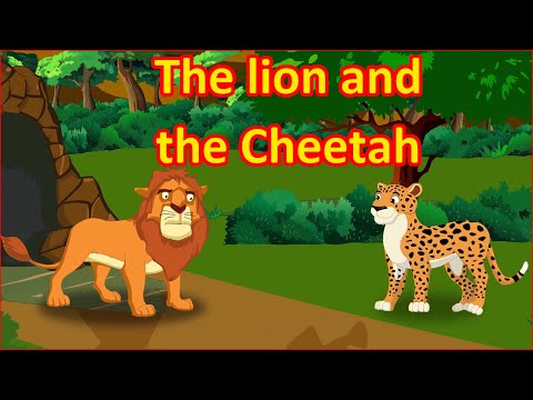 The Lion And The Cheetah | Panchatantra Moral Stories for Kids in English | Maha Cartoon TV English