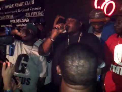 "G-STATUS  - ""Turnt Up!!"" LIVE @ Empire Lounge 5/31/13"