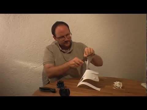 """Testbericht des angeblich """"besten Messerschärfers"""" Anysharp und anderen Schärfgeräten"""