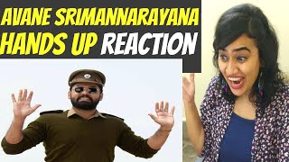 Hands UP REACTION | Avane Srimannarayana | Rakshit Shetty | Kannada | ASN