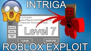 [NEW] ROBLOX EXPLOIT/HACK | INTRIGA - FULL LUA EXECUTOR w/JAILBREAK CMDS, QUICK CMDS AND MORE!