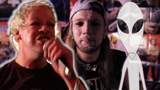 Pertti Kurikan Nimipäivät Beim ESC 2015 Of Mice&Men Ticket VerlosungTom Delonge VS Aliens