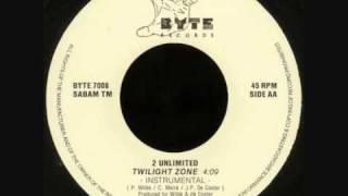 "2 Unlimited - Twilight Zone (7"" Instrumental) (1991)"