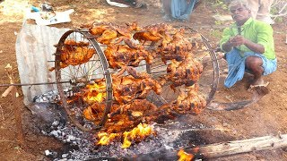 Two Wheeler Tandoori | Grilled Chicken in Cycle Wheel | Chicken Tandoori/food fun village