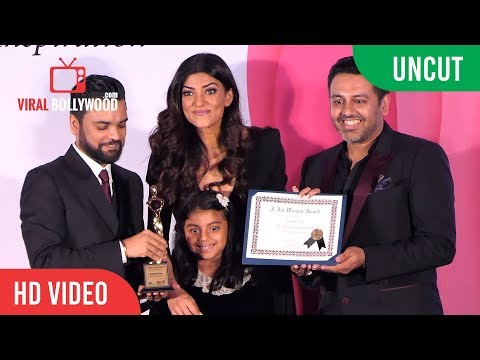 UNCUT - I Am Woman Awards 2018 | Sushmita Sen | Viralbollywood