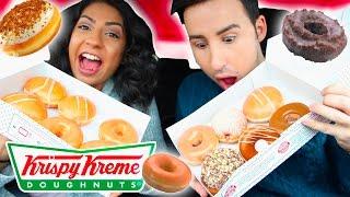 Krispy Kreme Taste Test!