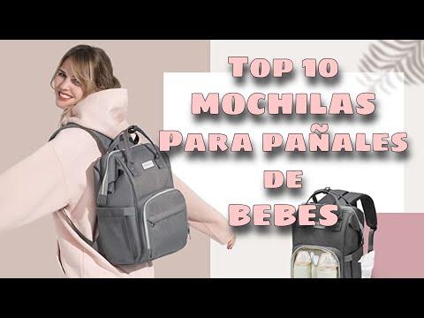 Top 10 Mejores Mochilas para Pañales bebes
