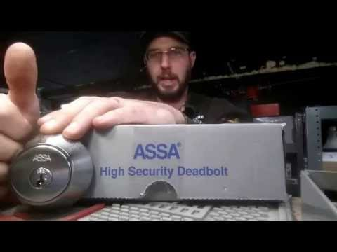 ASSA High Security LOCK Set up Re Keying and Pinning Key's Made