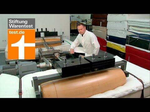 Test Matratzen: Auf den Preis kommts nicht an - So testet die Stiftung Warentest Matratzen