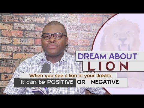 DREAMS ABOUT LIONS - Find Out The Biblical Dream Interpretation
