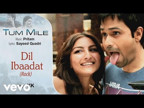 Dil Ibaadat Rock Best Audio Song - Tum Mile|Emraan Hashmi,Soha Ali Khan|Pritam|KK