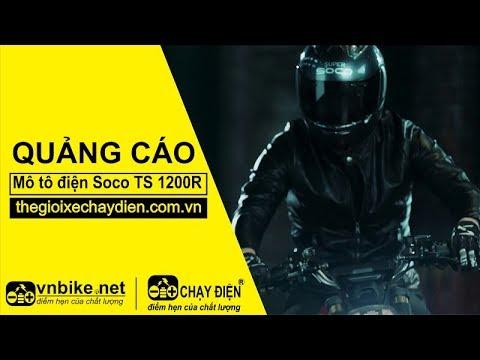 Quảng cáo mô tô điện Soco