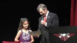 Alexis Bortell Texas House of Representatives Award