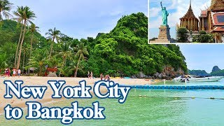 Best Way to Travel Thailand from America