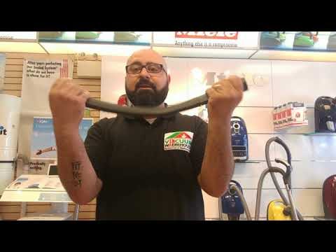 Miele SFD 20 flexible Crevice Tool Demo - Vacuum Warehouse