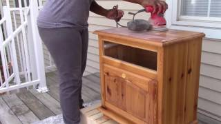 DIY | Furniture Makeover! Goodwill..