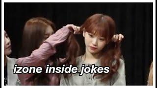 Izone Inside Jokes