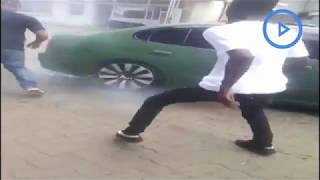 Video surfaces of how the Arusha street car racing event went down
