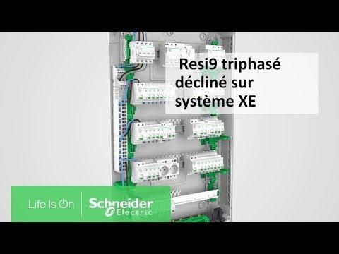 Resi 9 - Triphasé décliné sur la technologie embrochable XE