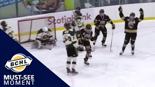 Must See Moment: Christian MacDougall's hat-trick powers Coquitlam to victory