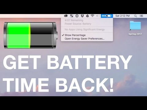 Fix Your MacBook's Battery Time Indicator