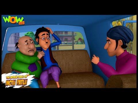 Motu Patlu New Episode | Cartoons | Kids TV Shows | Jhatka Kidnapped In Modern City | Wow Kidz