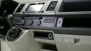 Volkswagen T6 - Interiér a motor