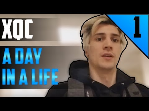 xQc VLOG #1 - A Day in A Life
