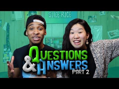 How to get an Asian GF as a Black man ► SLICE n RICE Q&A #2