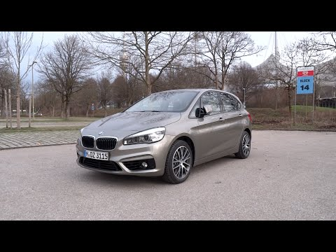 2015 BMW 225i Active Tourer Sport Line Start-Up and Full Vehicle Tour