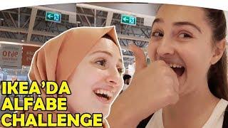 IKEA da ALFABE EŞYA BULMA OYUNU OYNADIK | ÇOK ÇEKİŞMELİ OLDU !! Fenomen Tv Challenge