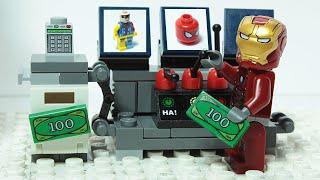 Lego Iron Man Experimental Heroes Machine Superhero Animation