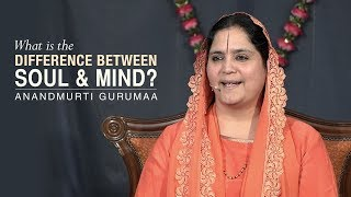 What is the difference between soul and mind? | Anandmurti Gurumaa